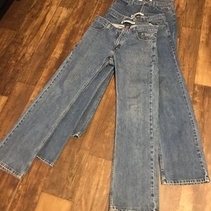 3 pair of Men's Harley Davidson 32x34 jeans